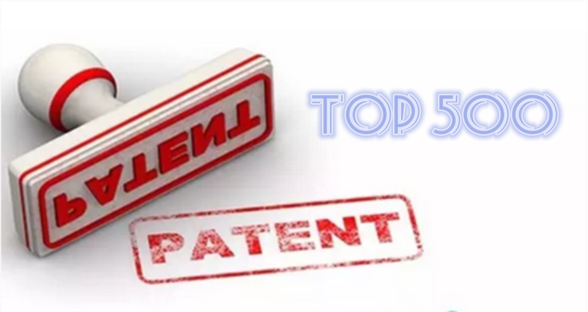 Top 500 of Chinese Enterprise Patents