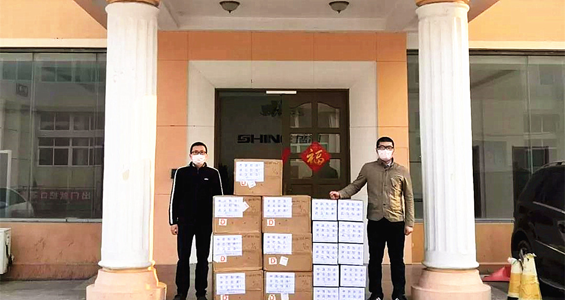 SHINE is on the move: 15000 masks have been sent to Wuhan!