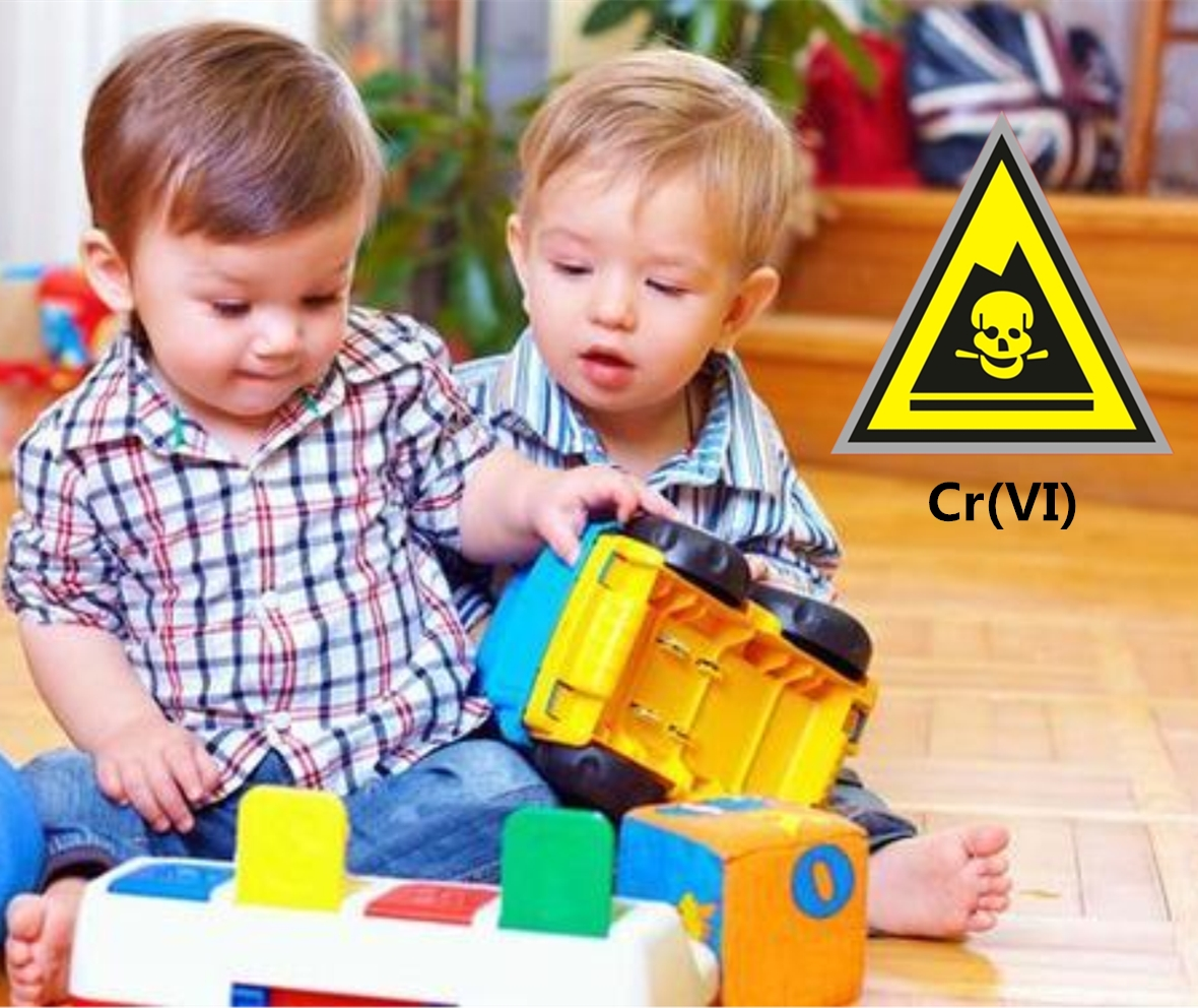 Detection of Cr(VI) in toys by IC-ICPMS