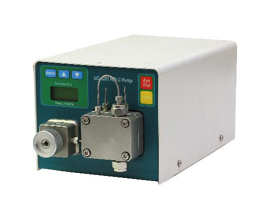 Miniature high pressure infusion pump