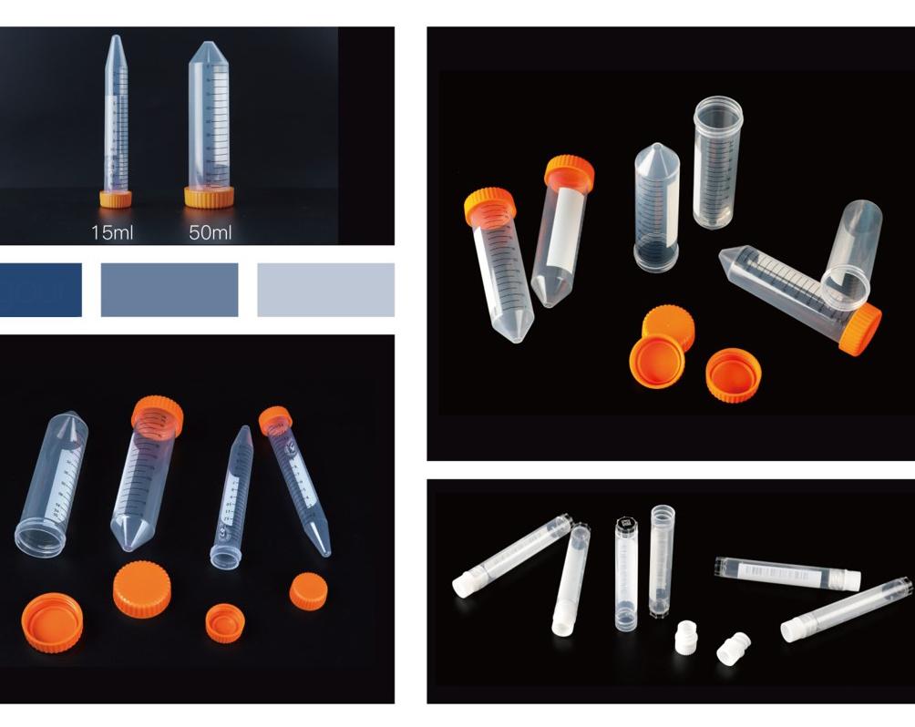 Sterilization centrifuge tube with shelf